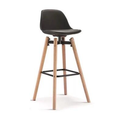 Mẫu ghế bar khung gỗ đệm da nhiều màu cao cấp