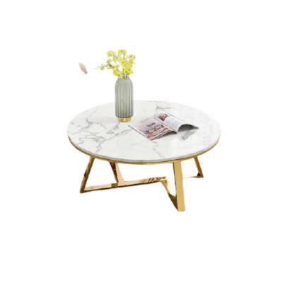 Bộ bàn nội thất sofa chân kim loại mạ vàng đẹp HCM
