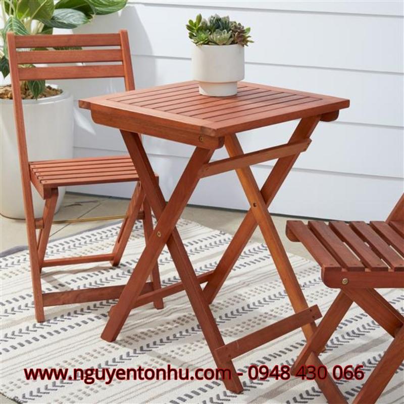 Công ty cung cấp bàn ghế gỗ ngoài trời