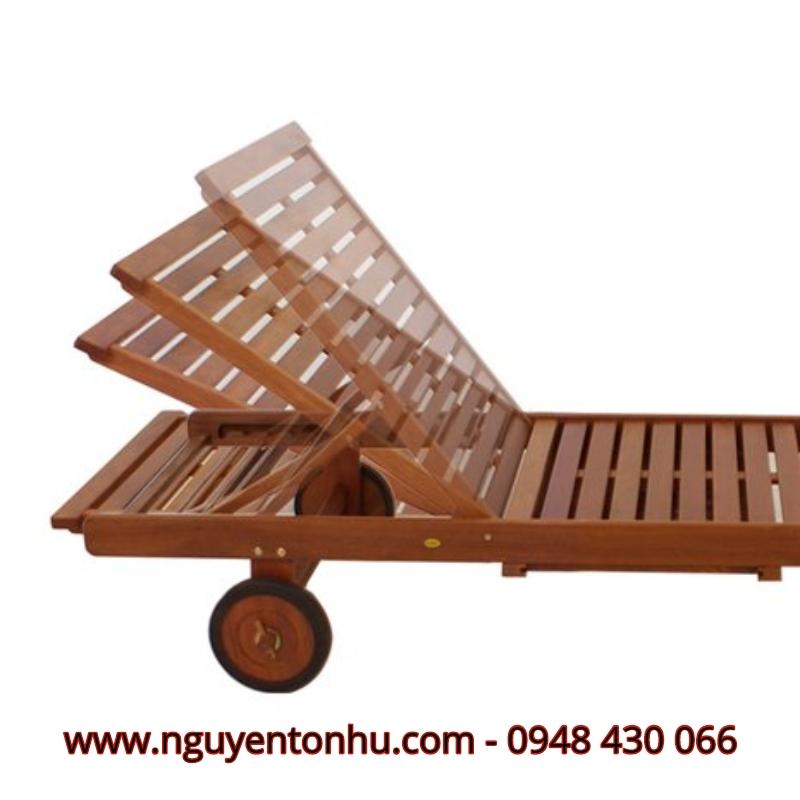 Top 9 ghế tắm nắng gỗ giá ưu đãi