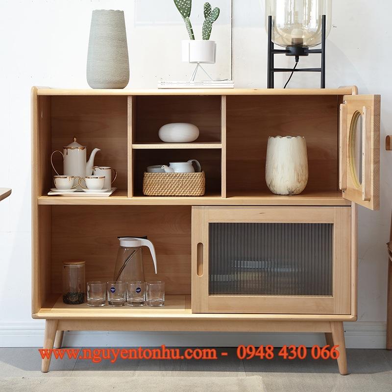 tủ gỗ phồng khách cao cấp