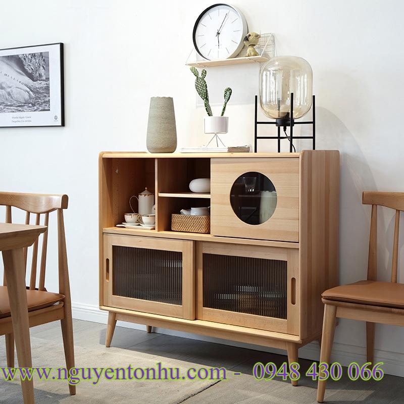 , tủ gỗ phòng khách giá