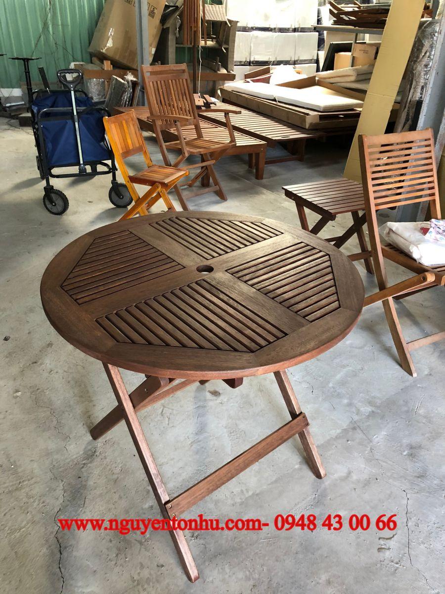 bàn ghế gỗ thanh lý