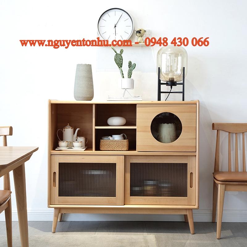 Công ty cung cấp tủ gỗ phòng khách tại tp hcm