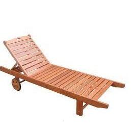 giường tắm nắng gỗ