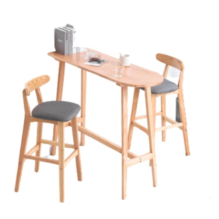 Bộ bàn ghế gỗ tụ nhiên hiện đại